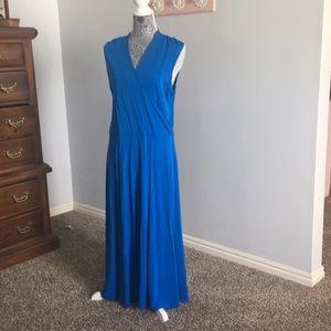 Jones New York blue dress